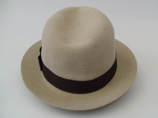Smithbilt Hats Crushable Kakhi Fur Felt Fedora Hat