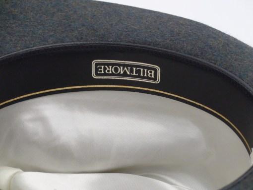 Royal Biltmore Traveler Grey Wool Felt Fedora Hat