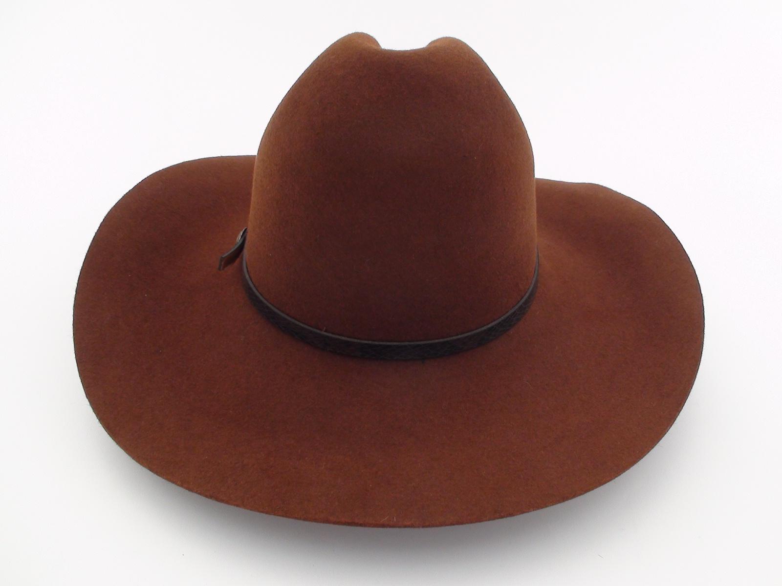 272498d5d78 Smithbilt Hats Brown Fur Felt Western Cowboy Hat - Bernard Hats