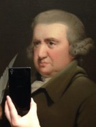"(Jonathan Wallis/Museum of Selfies/Tumblr) ""What inspired me to create a Museum of Selfies series on Tumblr was my visit to the National Gallery of Denmark together with a friend,"" says 29-year-old Muus."