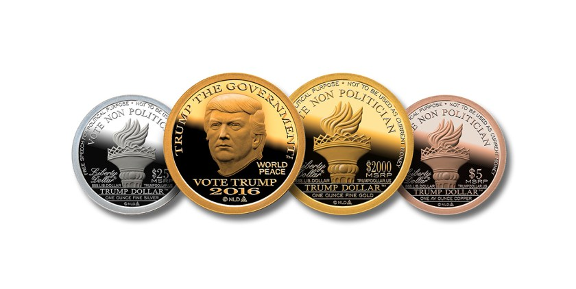 Trump Dollar, silver, gold & copper