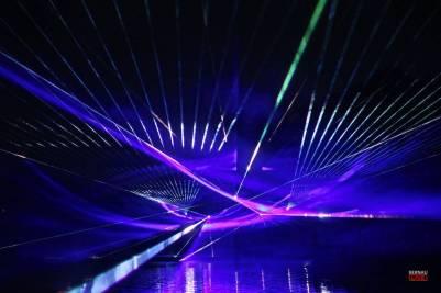Flößerfest in Finowfurt mit grandioser Lasershow und Feuerwerk eröffnet