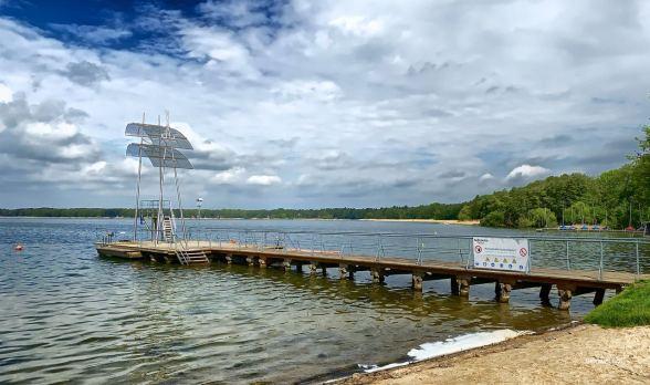 Munitionssuche: Strandbad Wandlitz frühestens im August geöffnet