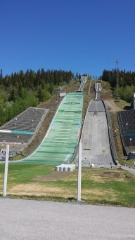 Die Olympiaschanze Lysgårdsbakkene.