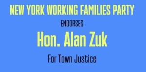 Honorable Alan Zuk is endorsed by NY Working Families Party for