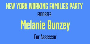 Melanie Bunzey, Candidate for Town Assessor is Endorsed by NY Working Families Party