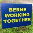 Berne Working Together Lawn Sign