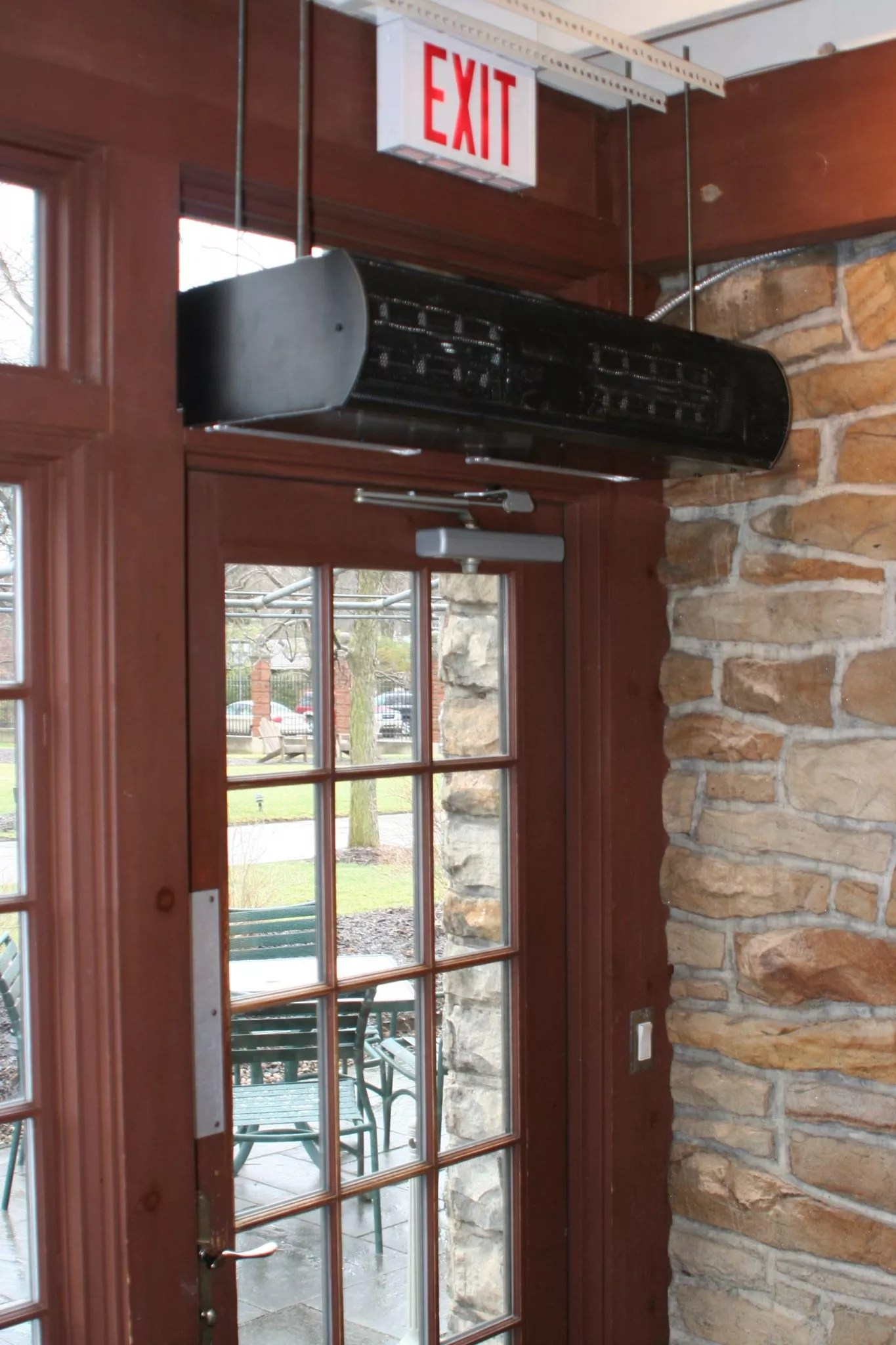 Architectural Air Curtain Low Profile 8 Product Alc08