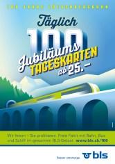 Sujet Jubiläumstageskarte
