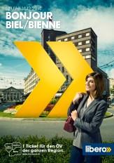 Plakat F12 Biel/Bienne Tarifverbund