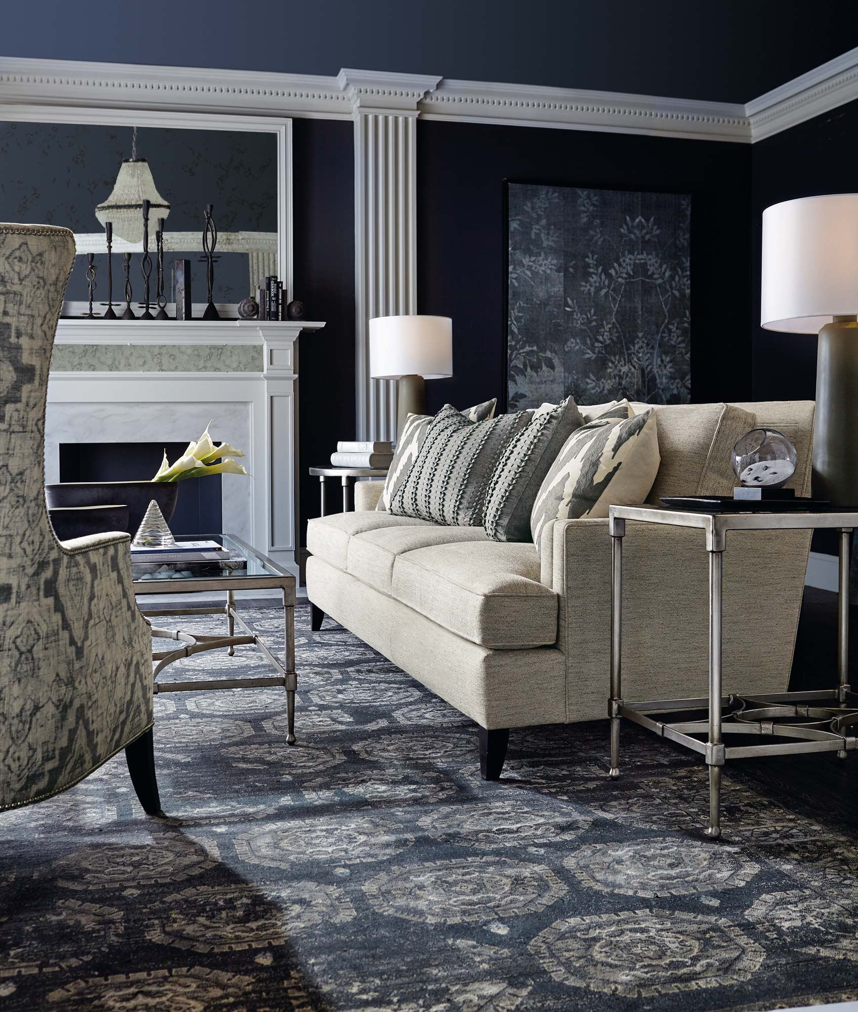 Addison Mona Living Room Bernhardt