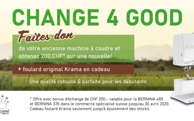CHANGE4GOOD: Campagne de reprise