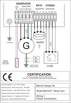 AMF control panel circuit diagram pdf – genset controller