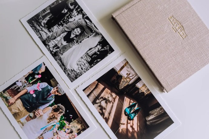 professional prints photos in a box
