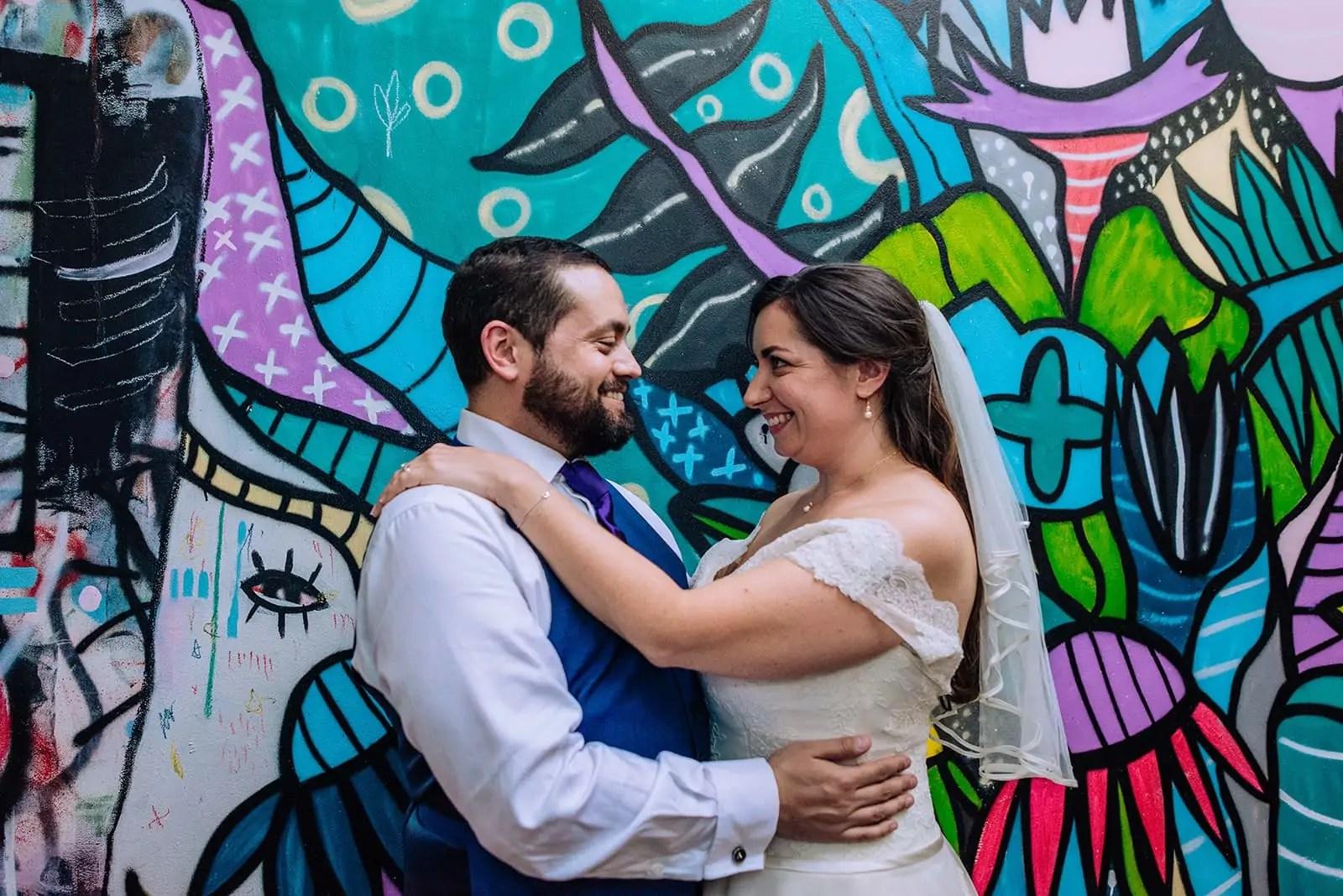 The Jam Factory Oxford wedding