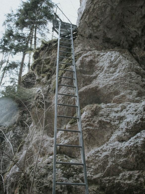Alternative zur 15 Meter Leiter beim Rudolf-Decker-Steig