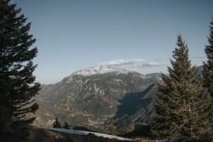 Blick auf den Schneeberg vom Obersberg
