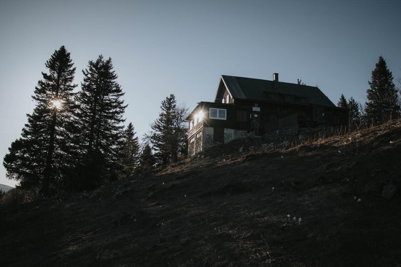Waldfreundehütte am Obersberg