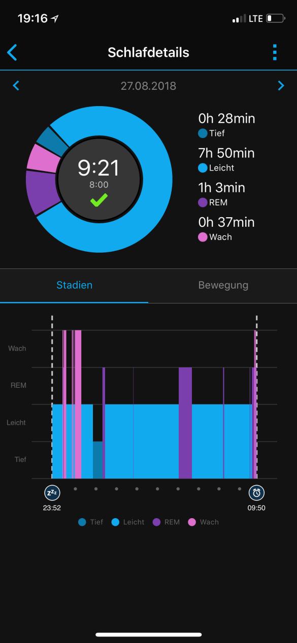 Garmin vívoactive 3 – die Uhr mit der ich schlafe…