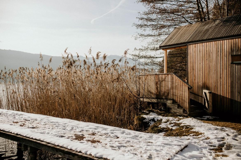 Biwak unter den Sternen am Millstätter See – Biwak Schilf