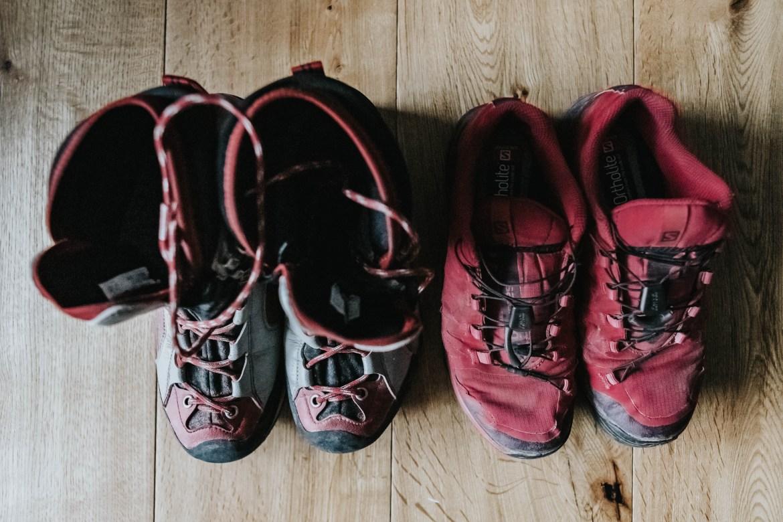 Weitwandern – die richtigen Schuhe