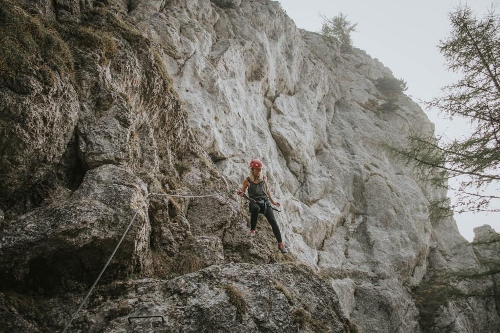 Das erste Mal Klettersteig