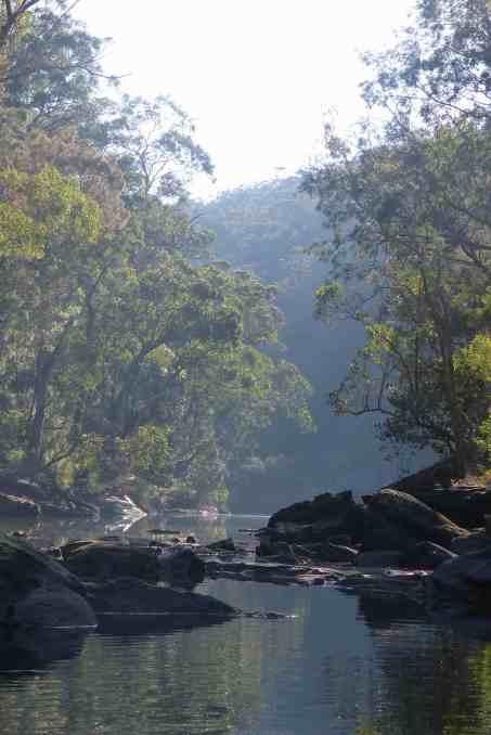 The creek at Stingray Bay