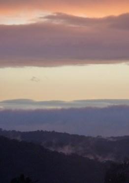 Misty May sunset