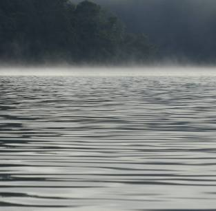 Morning mist on Berowra Creek