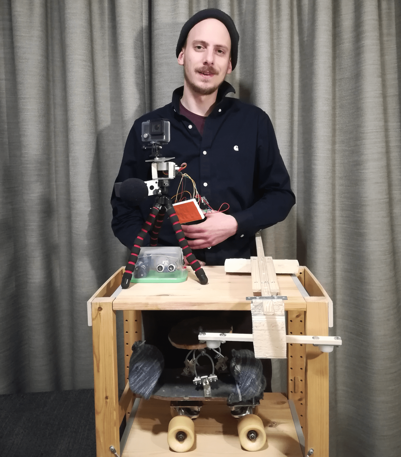 GO FILM YOURSELF: INTERVIEW WITH ROBOTICS ENGINEER MICHIEL GOOSSENS