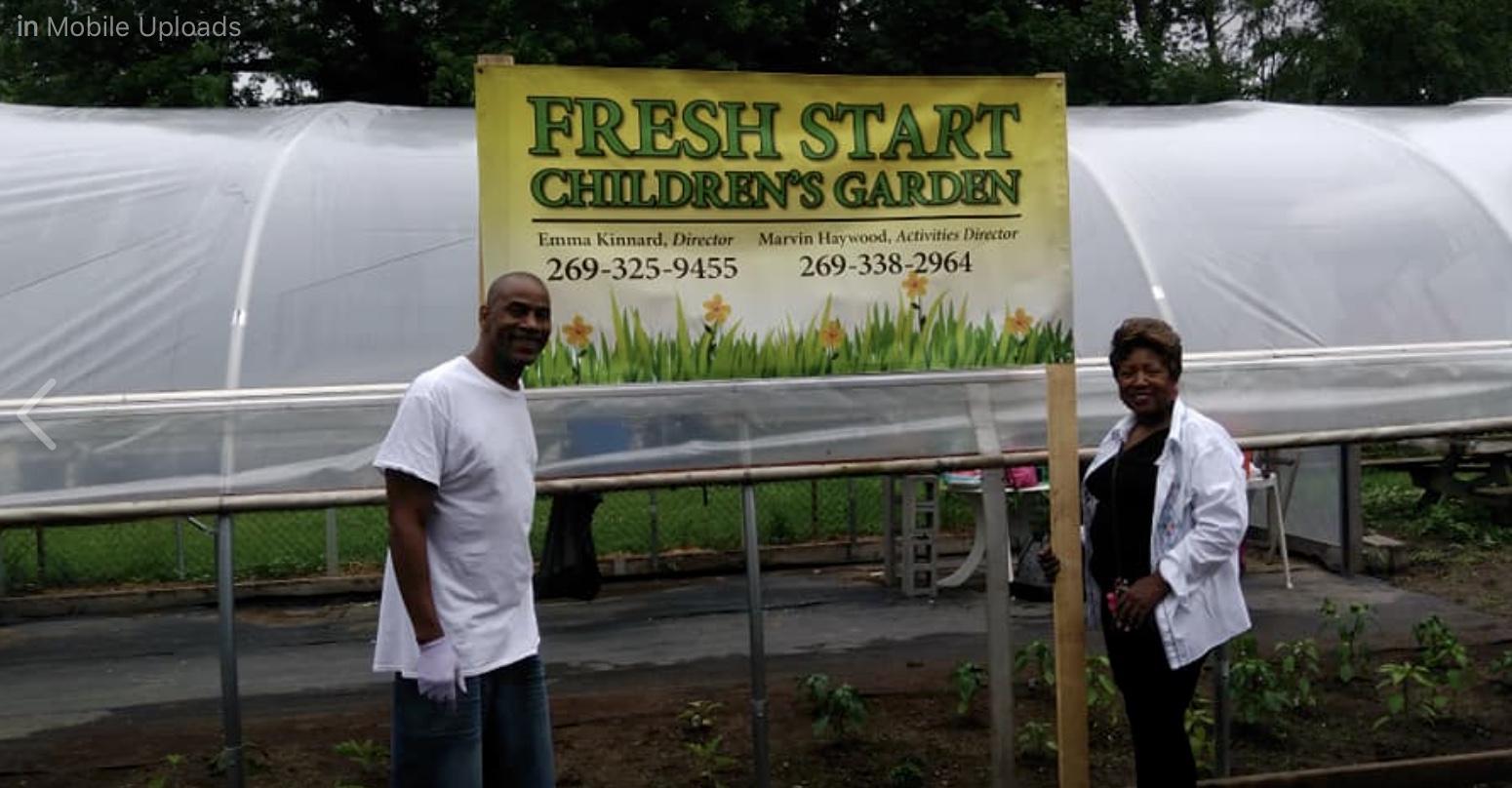 Thursday Gardening: Fresh Start Children's Garden @ Fresh Start Children's Garden | Benton Harbor | Michigan | United States