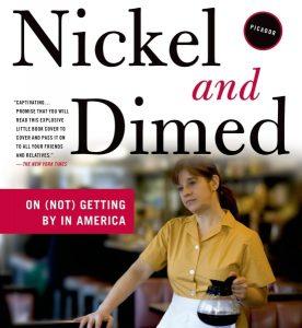 July Book Club Meeting: Nickel and Dimed by Barbara Ehrenreich @ Dennis and Ellen Higdon