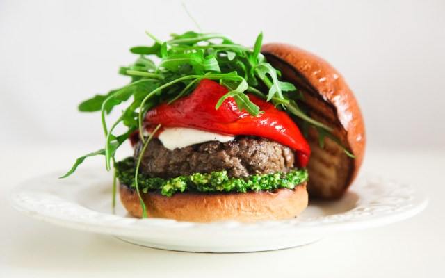 Super Simple and Incredibly Yummy Italian Burger