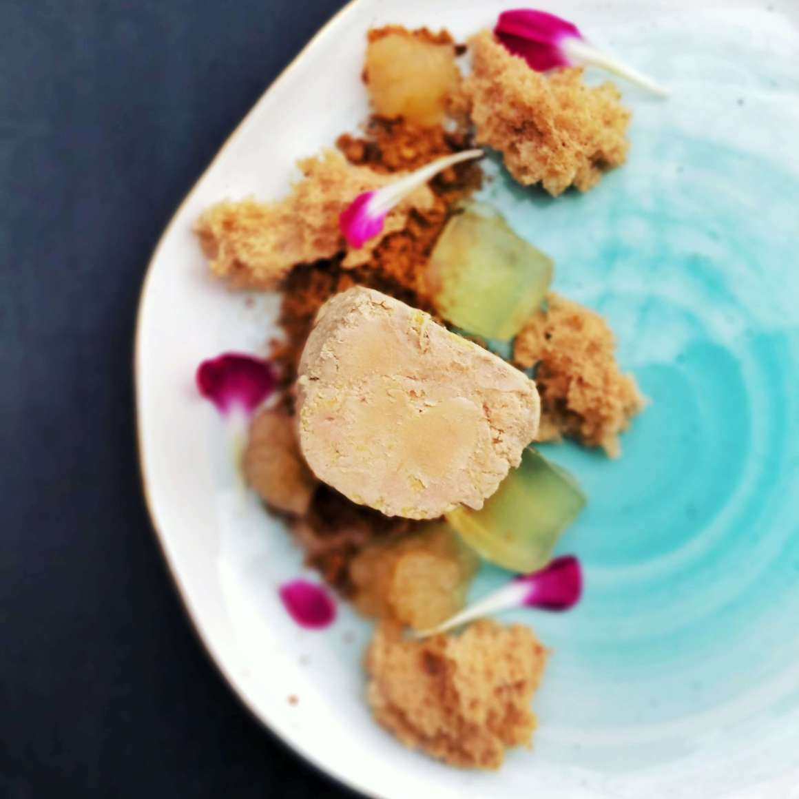 Fabulous Foie Gras with Pear, Gingerbread, Hazelnut and Sauternes | Berries and Spice