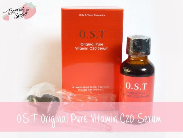 O.S.T Original Pure Vitamin C20 Serum
