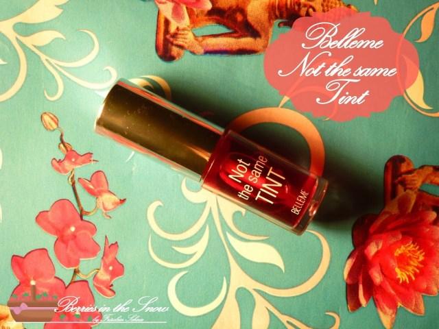 Belleme Cosmetics Not the same Tint Cherry Bomb