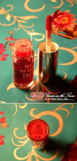 Belleme Cosmetics Not the same Tint Cherry Bomb
