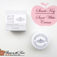Review: Secret Key Snow White Cream