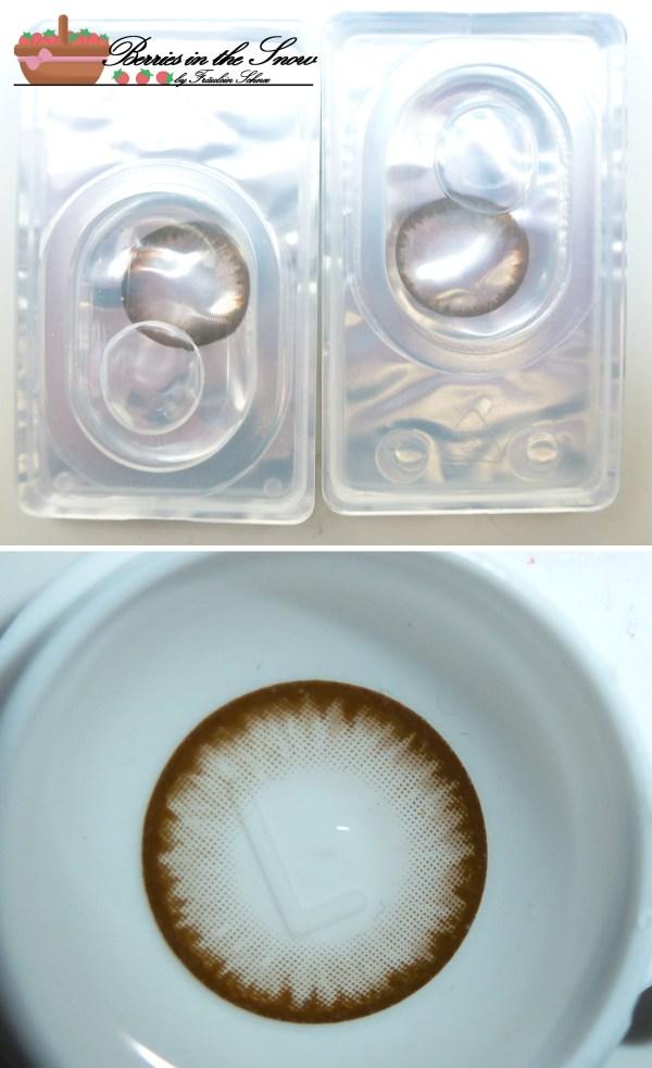 Dream Eye Hazel Iris Circle Contact Lenses