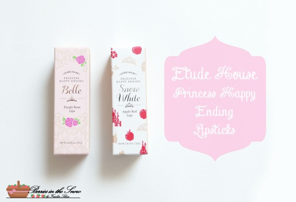 Etude House Princess Happy Ending Lipsticks
