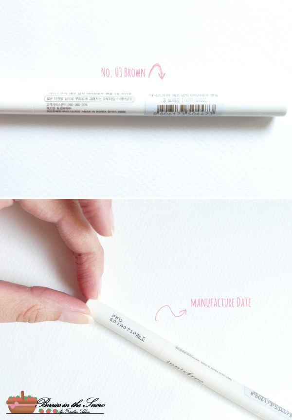 Innisfree Auto Eyebrow Pencil