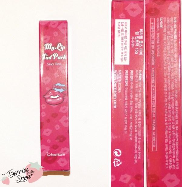 Berrisom My Lip Tint Pack