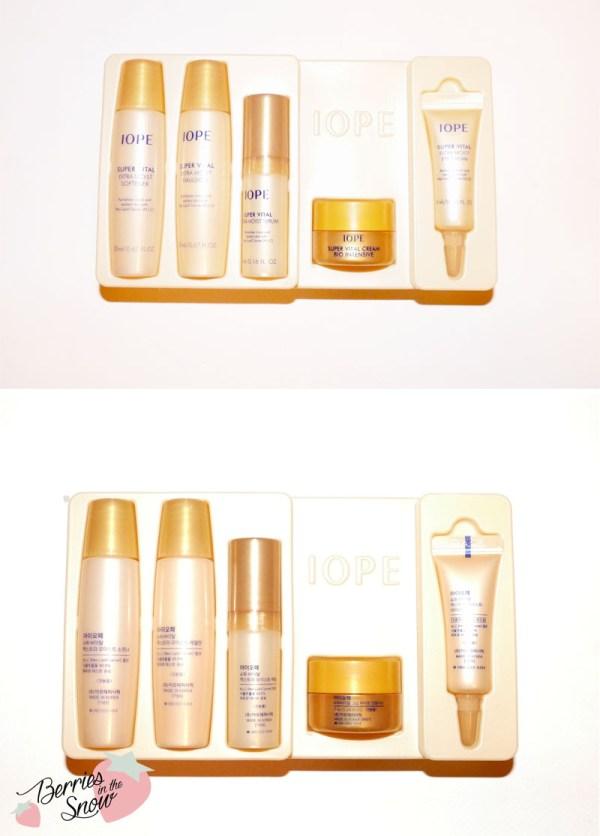 Iope Super Vital Cream VIP Kit