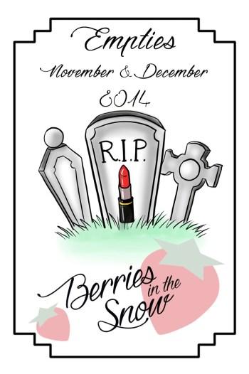 November and December Empties 2014