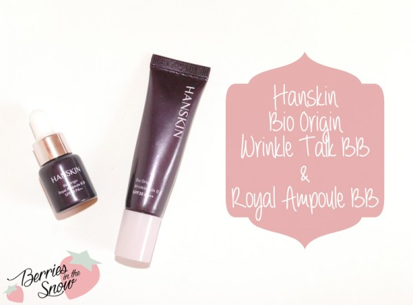 Hanskin Bio Origin BB Creams