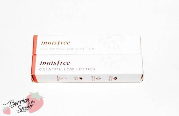 Innisfree Creammellow Lipsticks
