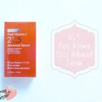 Review: OST C20 Pure Vitamin C21.5 Advanced Serum