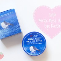 Review: SNP Bird's Nest Aqua Eye Patch