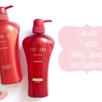 Review: Shiseido Tsubaki Shampoo and Conditioner