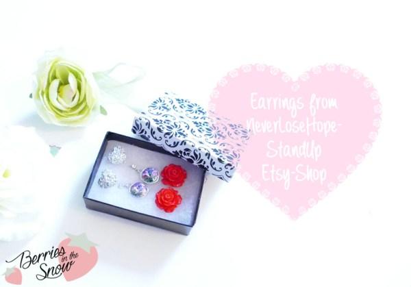 Earrings from NeverLoseHopeStandUp Etsy Shop